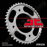 JT 42 tooth 428 pitch rear sprocket to fit Honda CBF 125 M 09-16.