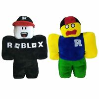 2PC Classic Roblox Plush Doll Soft Stuffed With Removable Hat Christmas Gift Toy