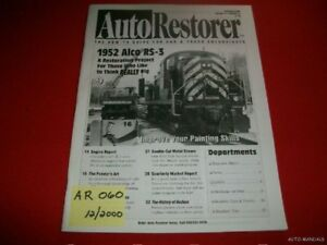 AUTO RESTORER - 1952 ALCO RS-3 LOCOMOTIVE  12/00