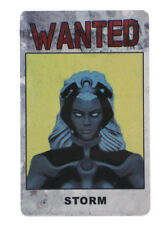 Marvel Heroclix Storm Wanted ID Card DOFP-005 Days Of Future Past X-Men OP LE
