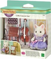 SYLVANIAN FAMILIES CELLO CONCERT SET KIDS TOY