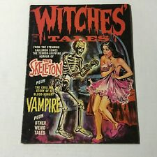 WITCHES TALES Vol 2 #5 October 1970 Eerie Publications Skeleton Skull cover