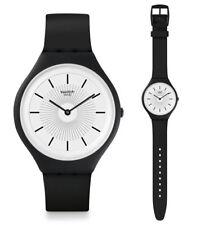 Swatch Skin Big Skinnoir Uhr SVUB100 Analog  Silikon Schwarz