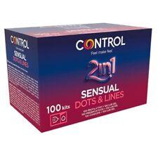 Preservativi Control Stimolanti Box da 100 profilattici + 100 Gel Lubrificanti