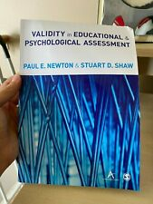 Validity in Educational and Psychological Assessment by Newton & Shaw