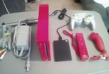 Nintendo Wii Limited Edition Red Console modded,GameCube comp,2tb hard drive.