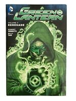 Green Lantern New 52 Volume 7: Renegade - DC Comics Hardcover Graphic Novel tpb