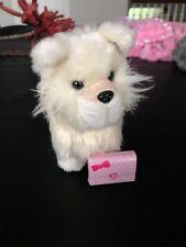 "American Girl Doll Pomeranian Dog Retired Plush 5"" Pet Tan Cream Colored Fluffy"