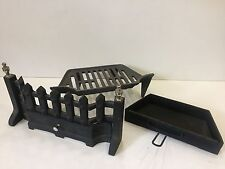 "Style 16"" Complete Fire Grate Set Multi Fuel Coal Log"