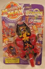 "Mighty Max - Doom Zones ""Stings Scorpion"" Playset With Scorpobot Mattel (MOC)"