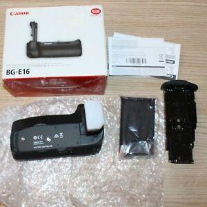 Genuine Original Canon BG-E16 Battery Grip for CANON EOS 7D Mark II