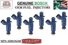 Fuel Injectors />2007 Cadillac STS 3.6L V6/< Rebuilt 6 OEM Bosch P# 0280156300