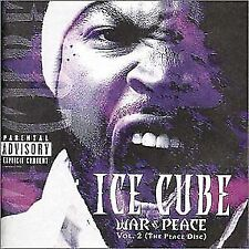 ICE CUBE War & Peace Vol. 2 (The Peace Disc) CD BRAND NEW