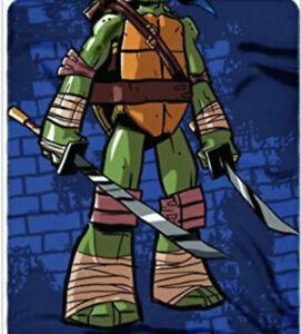 teenage mutant ninja turtle LEONARDO blanket and pillow