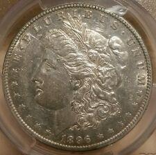 1896 O MORGAN DOLLAR GRADED AU 55 BY PCGS!!!!!