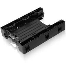 ICY DOCK EZ-Fit Lite MB290SP-B 2 x 2.5 to 3.5 Drive Bay SSD/HDD Mounting Bracket