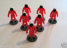 7 Modern Astronaut Micro Figures in Space Shuttle Astronaut Suits