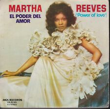 Martha Reeves Power Of Love / Stand By Me Spain Import 45 With Picture Sleeve