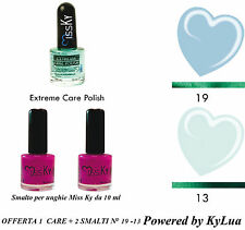 KIT SMALTI+CURATIVO UNGHIE COLLEZIONE SUMMER KyLua Made in Italy Nail Polish Art