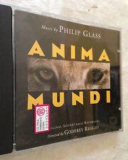 CD ANIMA MUNDI MUSIC BY PHILIP GLASS SOUNDTRACK COLONNA SONORA