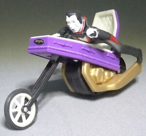 RARE 1978 Ideal SCARE CYCLE figure DRACULA Coffin Motorcycle Monster toy VHTF
