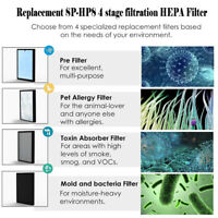SimPure SP-HP8 Replacement Air Purifier Filter 4 Stage Filtration Air Filters US