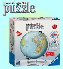 Ravensburger 540 piezas 3D Puzzleball ® Globe Rompecabezas-no 124275-V-stand