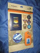 PANDORA / AVATAR Disney Exclusive Intergalactic Passport Kit ~Button/Photo Badge