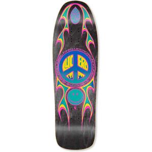 "Black Label Skateboard Deck Lucero Street Thing Black Stain 9.88"" x 32.25"""