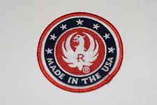 "RUGER LOGO PATCH""MADE IN THE USA""10/22 MINI14 SR9 MKIII 22/45 SR15 SR556 LCP LCR"