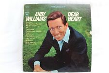 Andy Williams' Dear Heart CS 9138 Vintage Vinyl Record 1965 LP