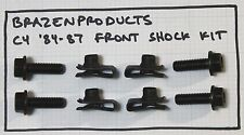 C4 Corvette 1984-87 Front Shock Lower Mounting Hardware Kit (Left and Right)