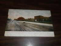 JULY 1907 NORTHERN PACIFIC RAILWAY FARGO NORTH DAKOTA POSTCARD TRAIN 8 RPO
