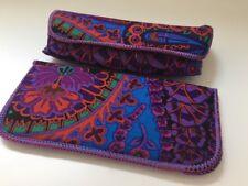 Purple Paisley Eyeglass Cases