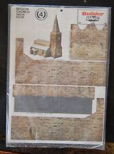 Builder Plus BPOO16 Church Kirche Eglise 1970's NOS OO/HO Scale