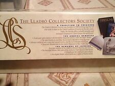 The Lladro Collectors Society Ornament and Signed Display piece