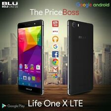 BLU Life One X LTE 13MP 16GB 4G 8-Core Dual SIM GSM Unlocked Android Black Phone