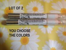 LOT OF 2 Hard Candy Visibly Wet Shockingly Glossy Lip Pencil U CHOOSE THE COLORS
