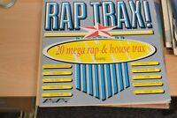 RAP TRAX   20 MEGA RAP & HOUSE TRAX     LP   VARIOUS ARTISTS  SMR 859   STYLUS
