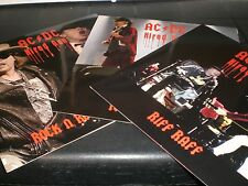 AC/DC Hired Gun vinyl 3-LP set unplayed Axl Rose