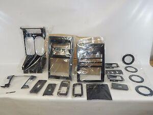 New OEM 2009-2012 Ford Flex Interior Trim Kit Graphite Weave A9FLEX20000BAGW