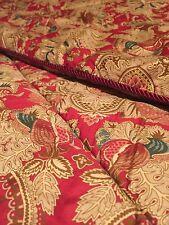 ❤️ Ralph Lauren JARDINIERE Floral Diplomat Paisley Sateen Full Queen Comforter