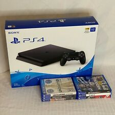 Sony PS4 1TB Slim Bundle - Console Controller 8 Games Sports War FREE SHIPPING!