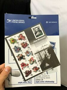 Jim Henson & The Muppet 37 Cent Stamps, USPS Sheet of 11 *UNOPENED!*