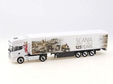 "Herpa 1:87 - 306454: Scania 124 TL Schubboden-SZ ""125 Jahre Scania"" - NEU + OVP"