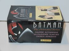 BATMAN THE ANIMATED SERIES PANINI STICKERS FULL TRADE BOX SEALED MISB 1993 DC