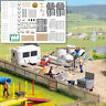 HO road construction accessories - OO/HO scenery Busch 1044 - free post