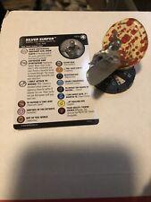 Silver Surfer 047a Fantastic Four Marvel Heroclix Rare w/ card