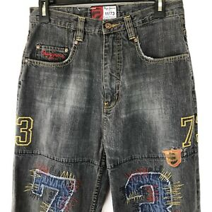 PEPE JEANS Embroidered Jeans / Men's Size 30 x 30 / Classic 11-73 Design