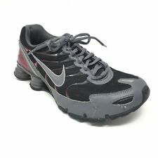 Men's Nike Shox Turbo VI SL Shoes Sneakers Size 8.5 Training Black Gray D13
